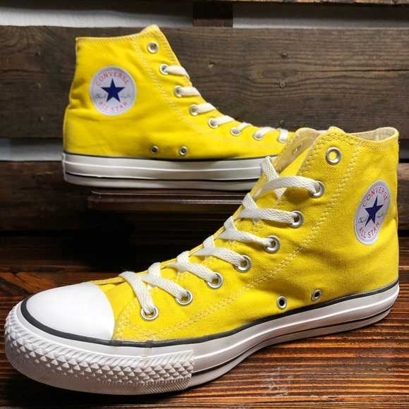 CONVERSE ALL STAR CHUCK TAYLOR YELLOW LIKE NEW